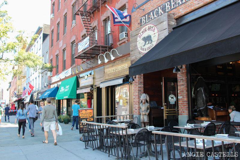 Qué hacer en Hoboken - Restaurantes y bares en Washington St