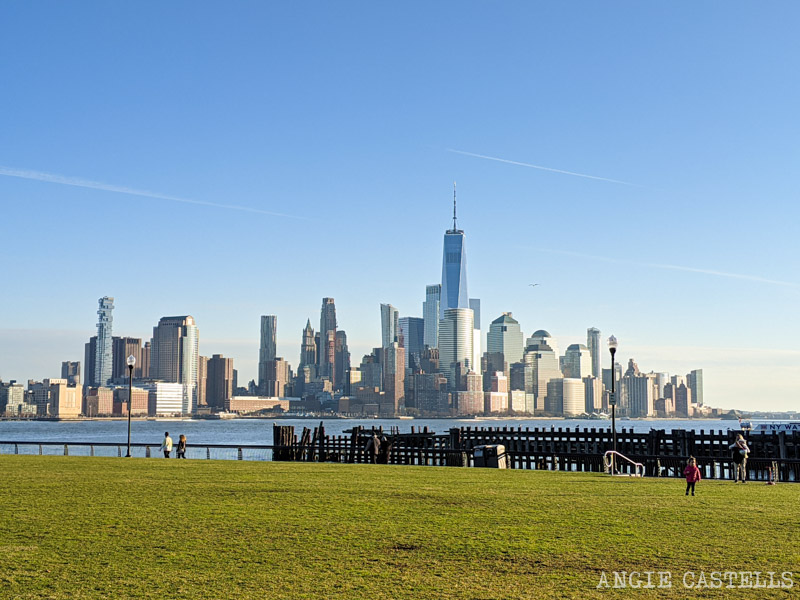 Las vistas del skyline de Manhattan desde Hoboken - Pier A