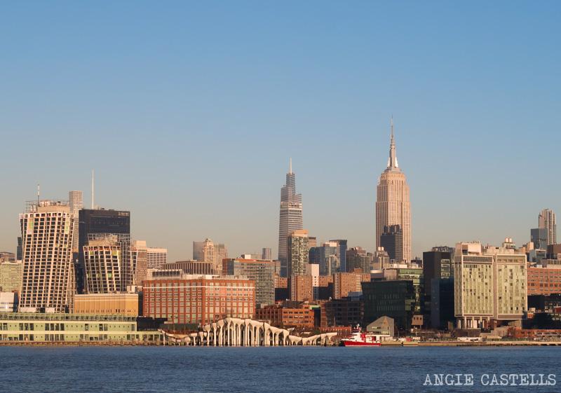 Skyline de Nueva York desde Hoboken - Empire State Building