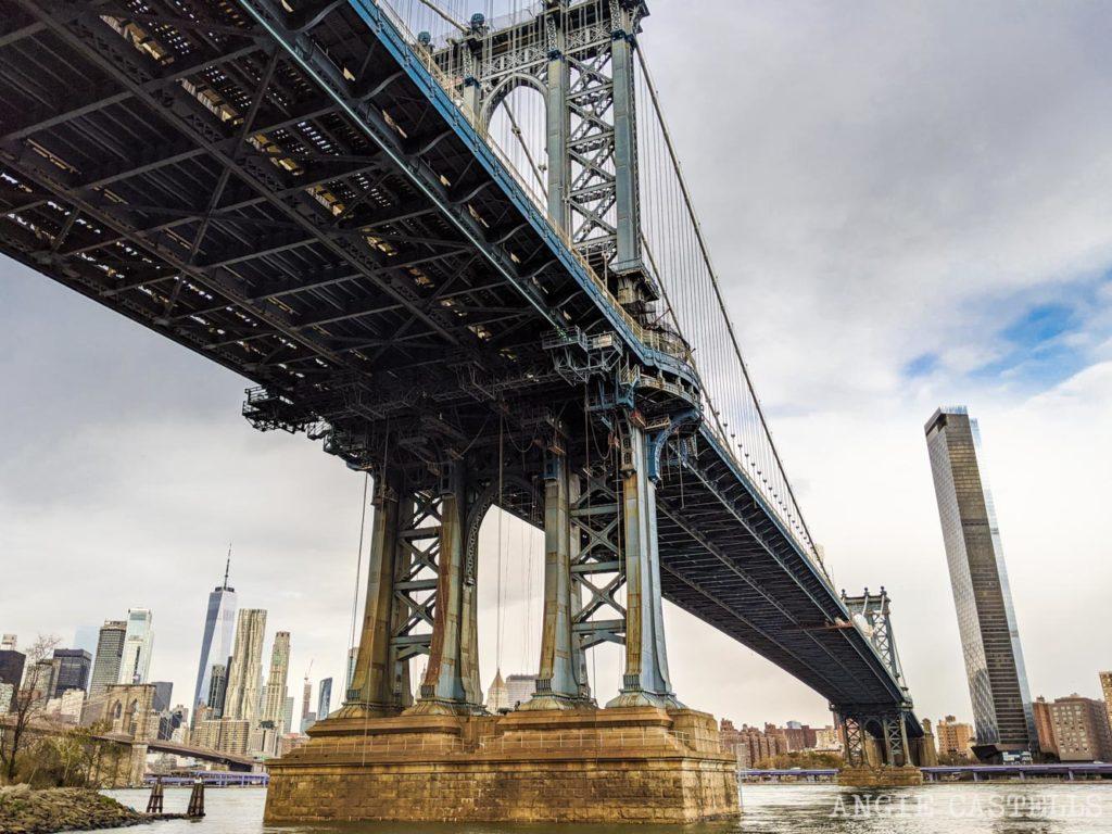 Los puentes de Nueva York y como cruzarlos - Manhattan Bridge en Dumbo