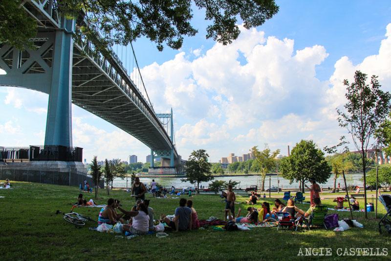 Los puentes de Nueva York - Triborough Bridge en Astoria Park