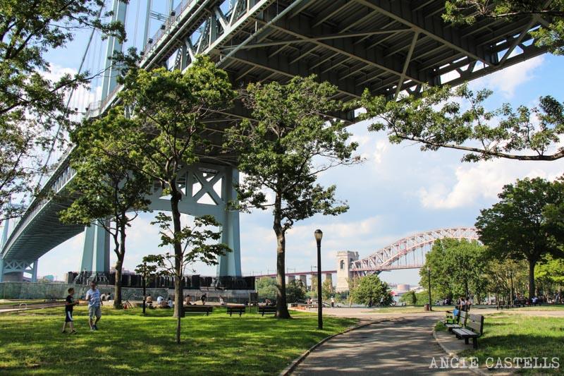 Los puentes más famosos de Nueva York - Triborough Bridge en Astoria Park