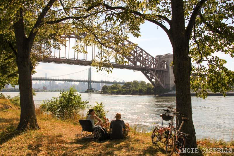 Los puentes de Nueva York - Hell Gate Bridge en Astoria Park