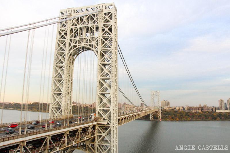 Los puentes mas famosos de Nueva York - George Washington Bridge