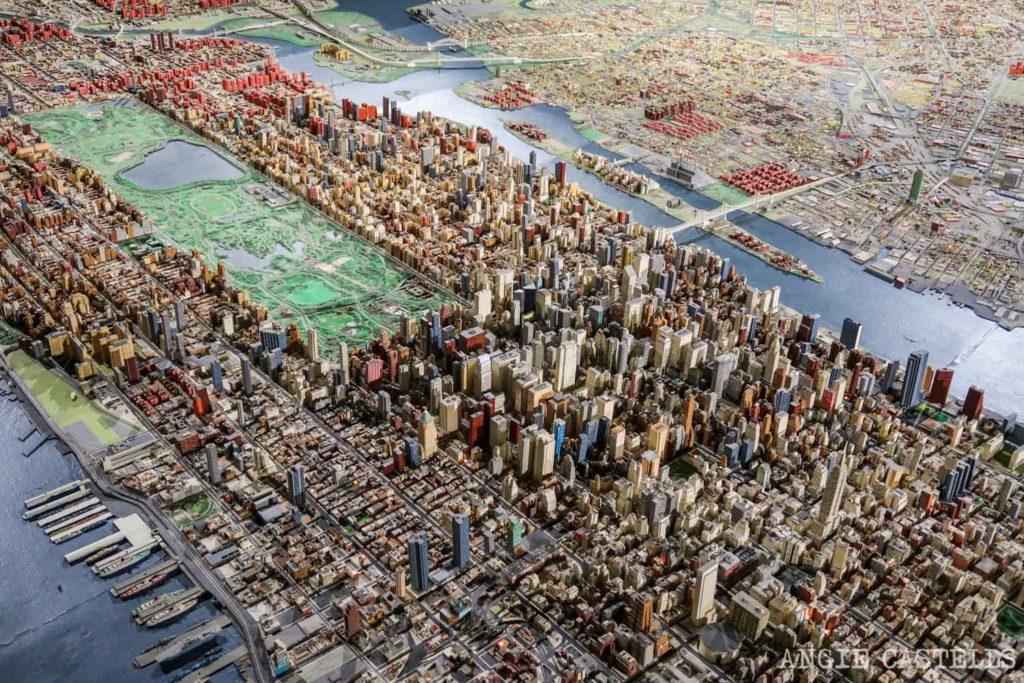 El Queens Museum y la maqueta de Nueva York Panorama of the City of New York