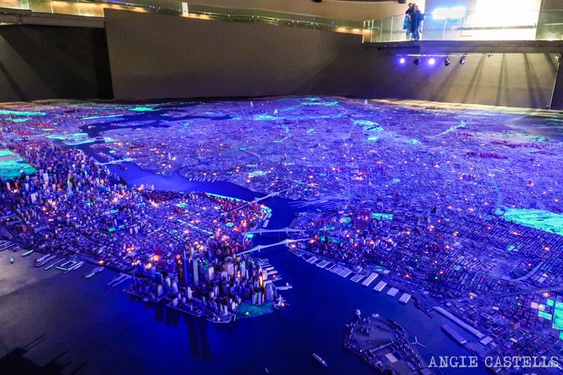 La maqueta de Nueva York Panorama of the City of New York