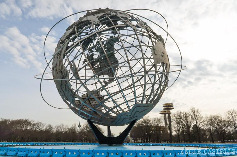 Unisphere, la bola del mundo de Queens en Flushing-Meadows Corona Park 800