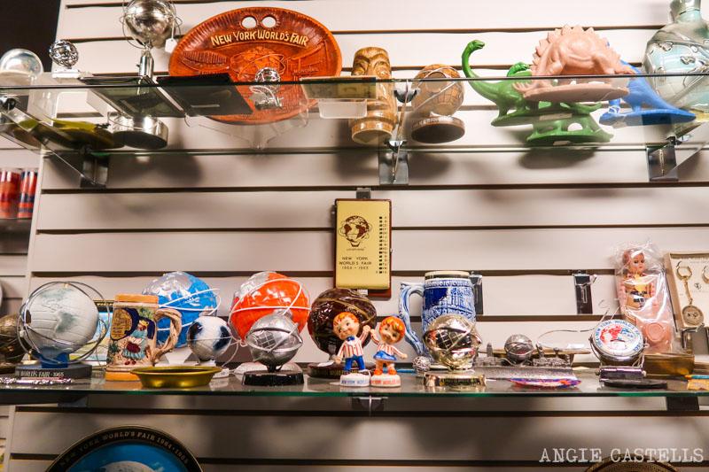 Objetos de las Ferias Mundiales de Nueva York en el Queens Museum