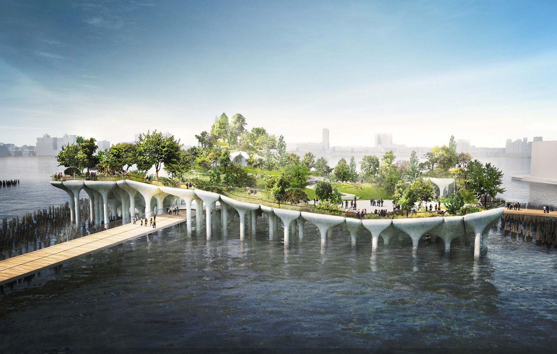 Cómo visitar Little Island, el nuevo parque flotante de Nueva York 1500