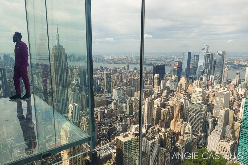 Cubos de cristal del observatorio Summit de Nueva York