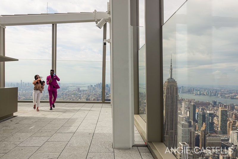 La terraza del observatorio Summit de Nueva York