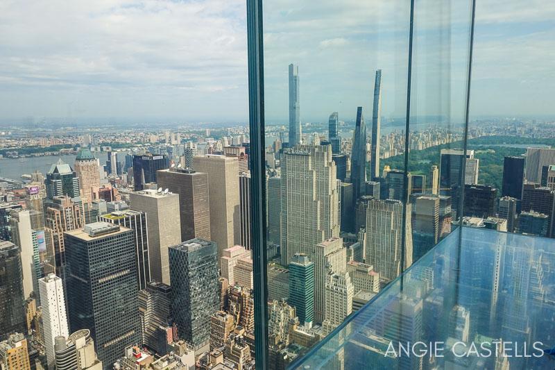 Los cubos de cristal del mirador Summit de Nueva York