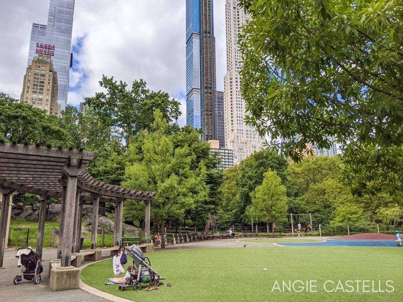 Parques infantiles en Nueva York - Heckscher Playground en Central Park