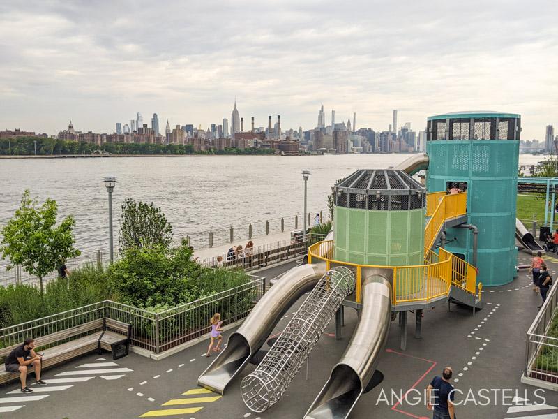 Parques infantiles en Nueva York - Domino Park