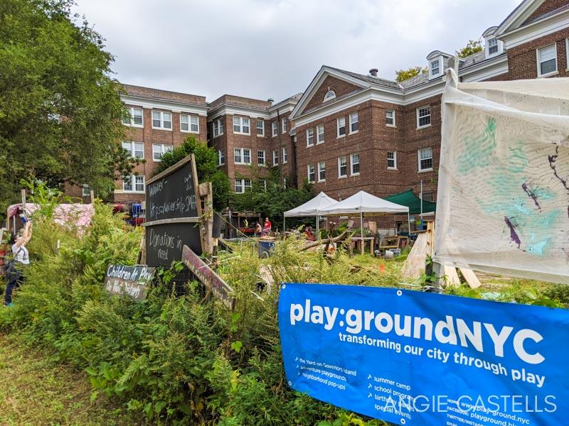 Parque infantil en Nueva York - The Yard en Governors Island