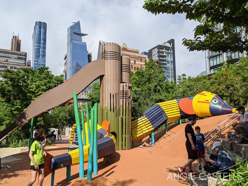 Parques infantiles en Nueva York - Chelsea Waterside Park