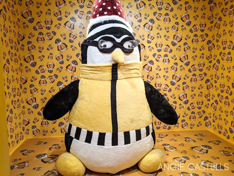 The Friends Experience New York - Hugssy, el pinguino de Joey