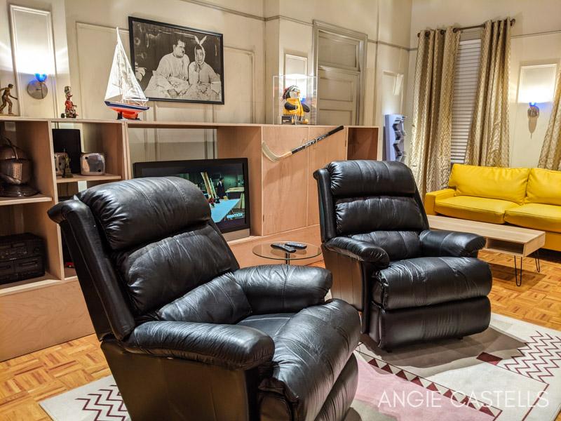 Exposicion de Friends en Nueva York - Apartamento de Joey y Chandler