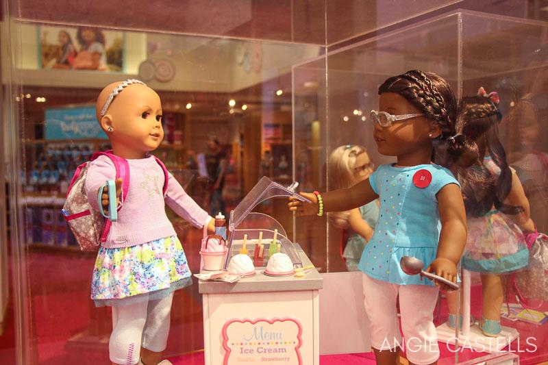 American Girl, una de las tiendas de juguetes más famosas de Nueva York