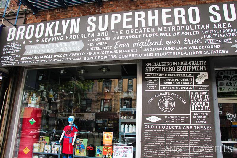 Brooklyn Superhero Supply, la tienda de los superheroes en Brooklyn