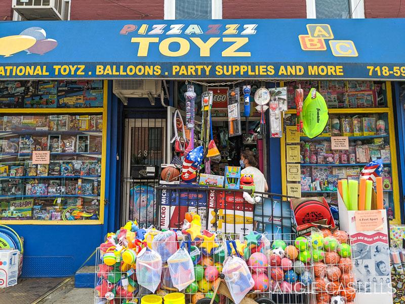 Tiendas de juguetes en Nueva York - Pizzazz Toys