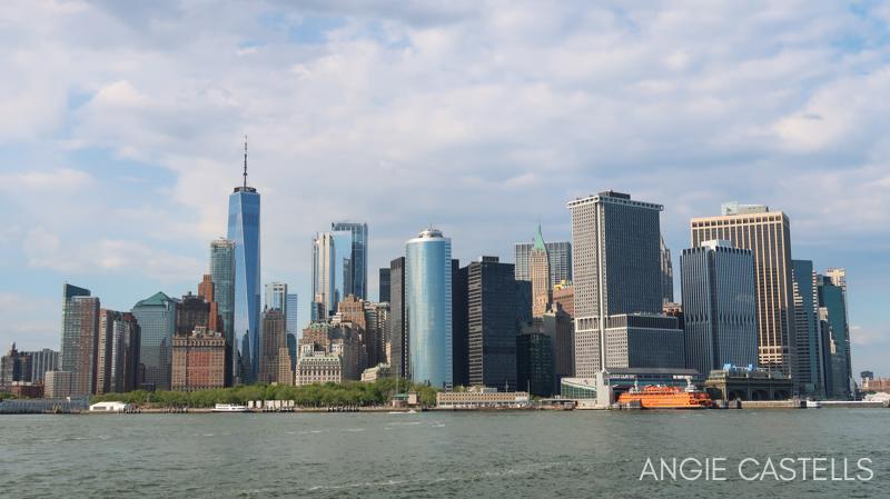 El sur de Manhattan, el One World y el ferry de Staten Island