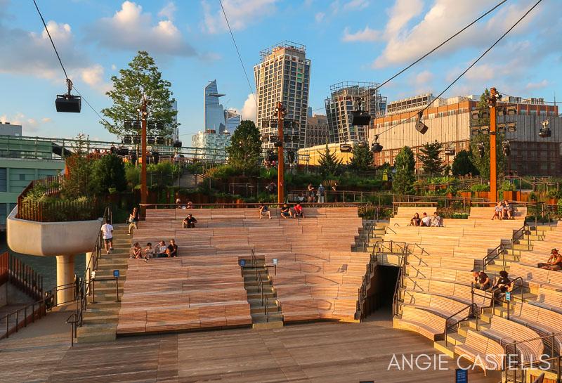El anfiteatro de Little Island, el parque flotante de Nueva York