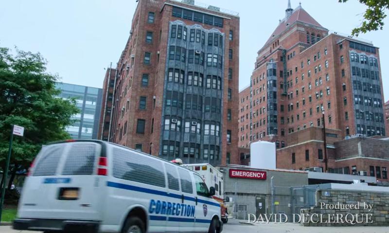 Escenarios de New Amsterdam, una serie ambientada en Nueva York