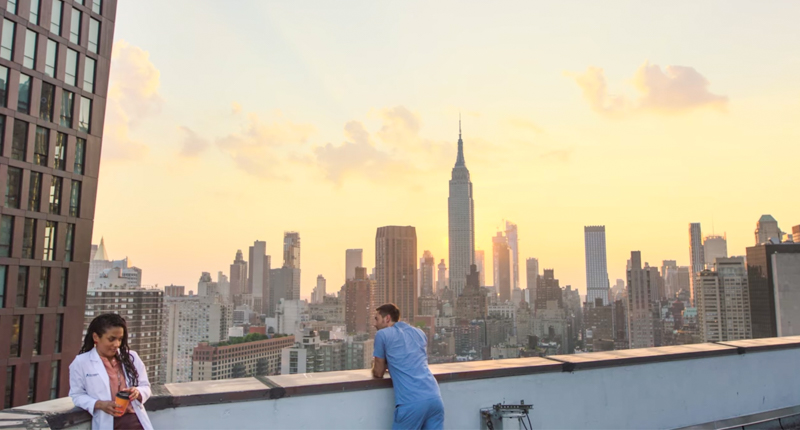 Series rodadas en Nueva York - New Amsterdam