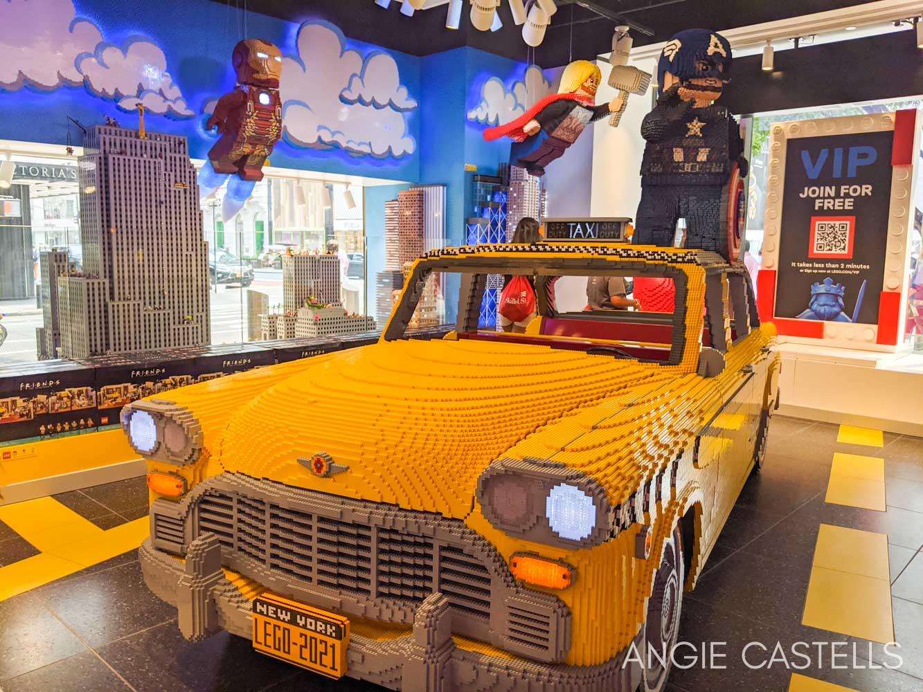 Visitar la tienda Lego de Nueva York - Lego Store 5th Avenue