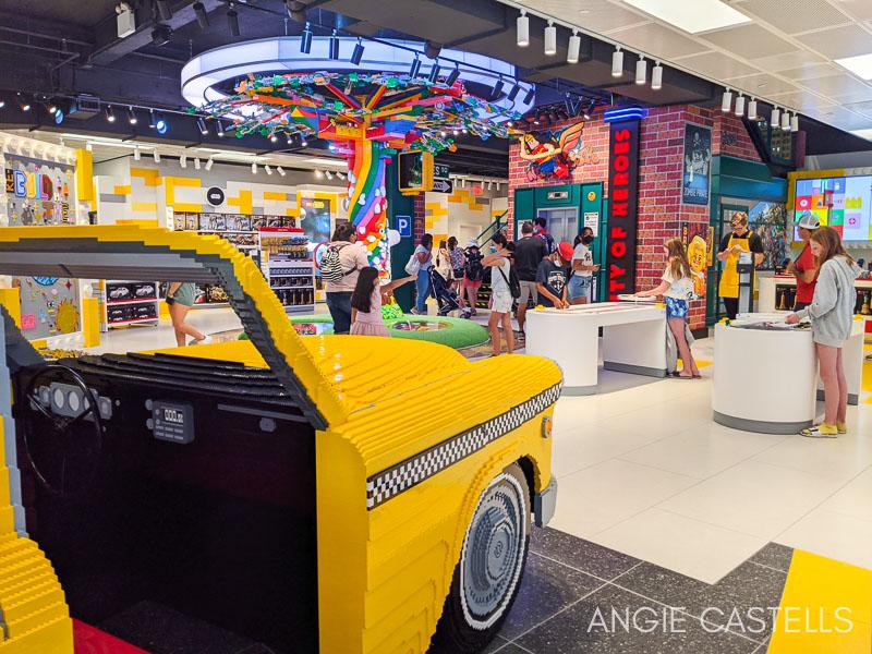 Visitar la tienda Lego de Nueva York en el Rockefeller Center