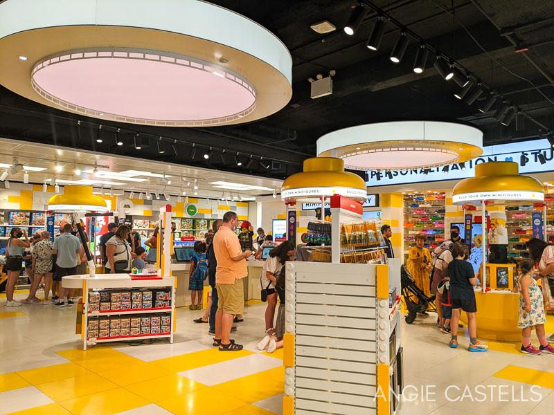 Lego Store de Nueva York - Figuras personalizadas
