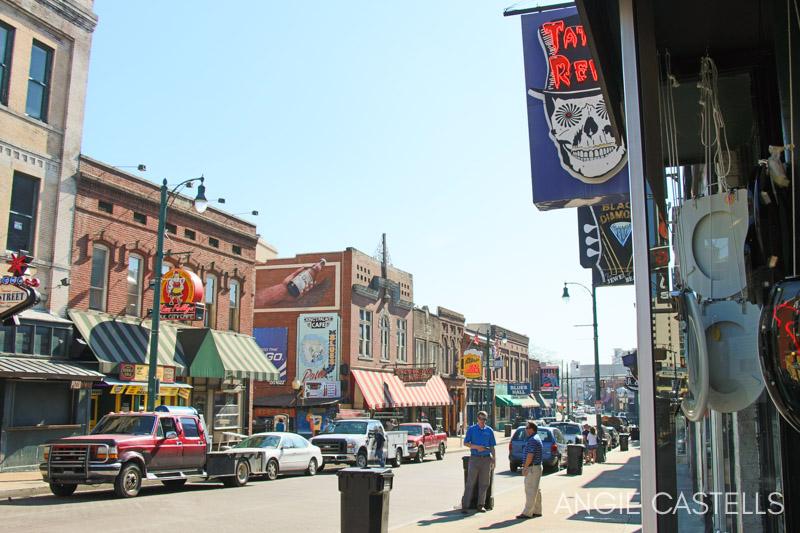 Itinerario por la Ruta 61 - Beale Street en Memphis