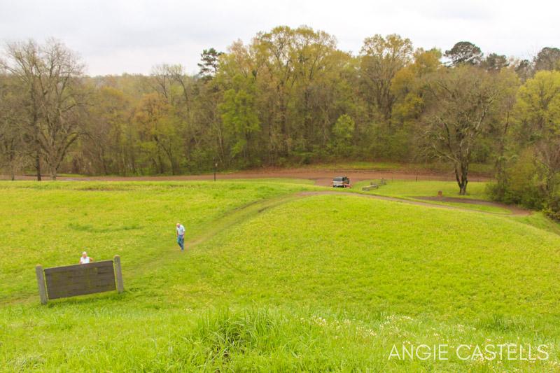Recorrer la carretera Natchez Trace - Emerald Mounds
