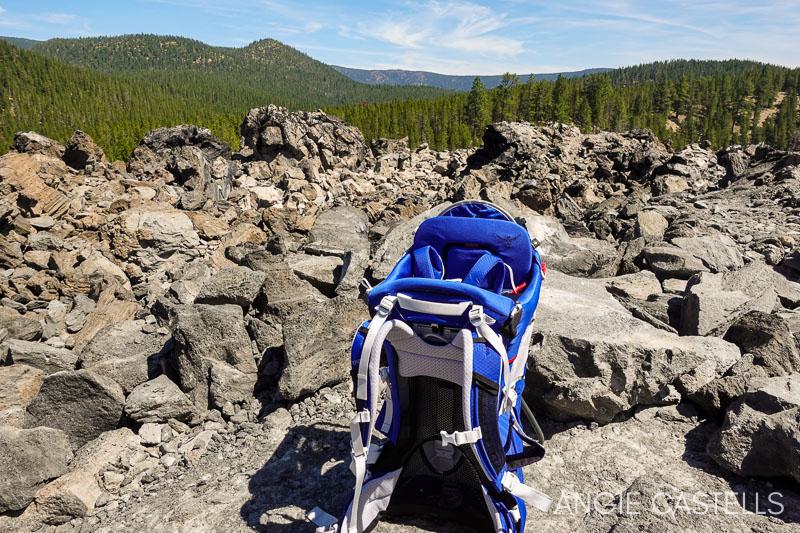 Viajar a Oregon con niños - Mochila para excursiones