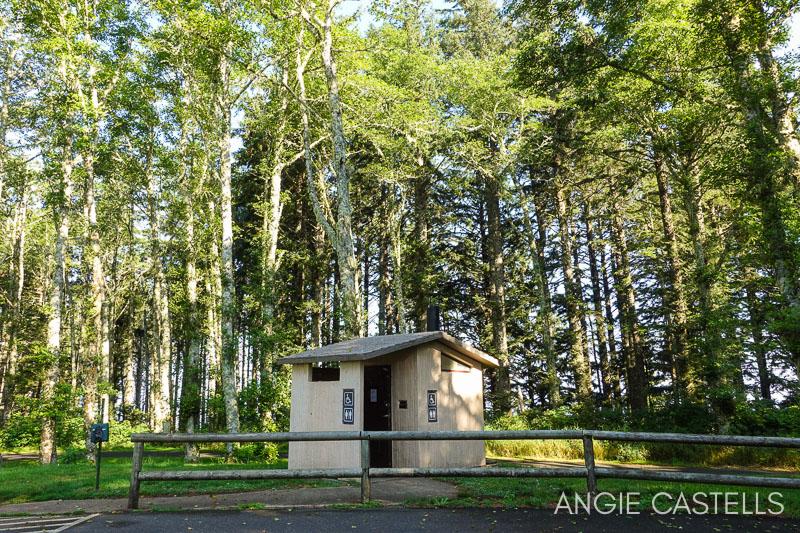 Baños en los parques de Oregon
