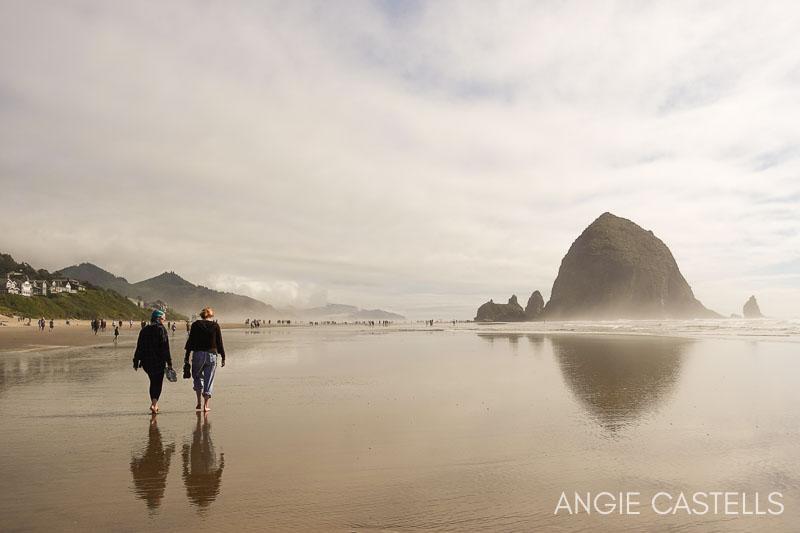 Ruta por Oregon - Cannon Beach y Haystack Rock