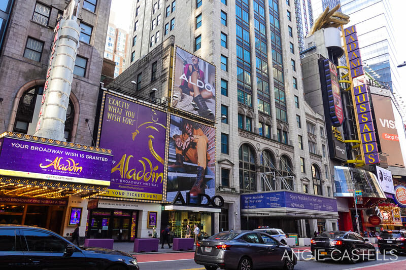 Guia del Madame Tussauds Nueva York, en Times Square