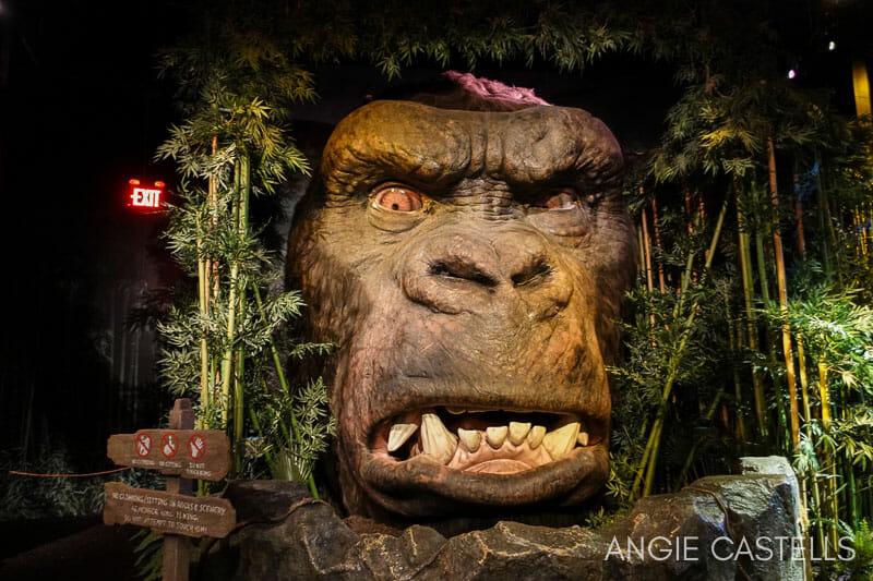 Visitar el Madame Tussauds de Nueva York - King Kong